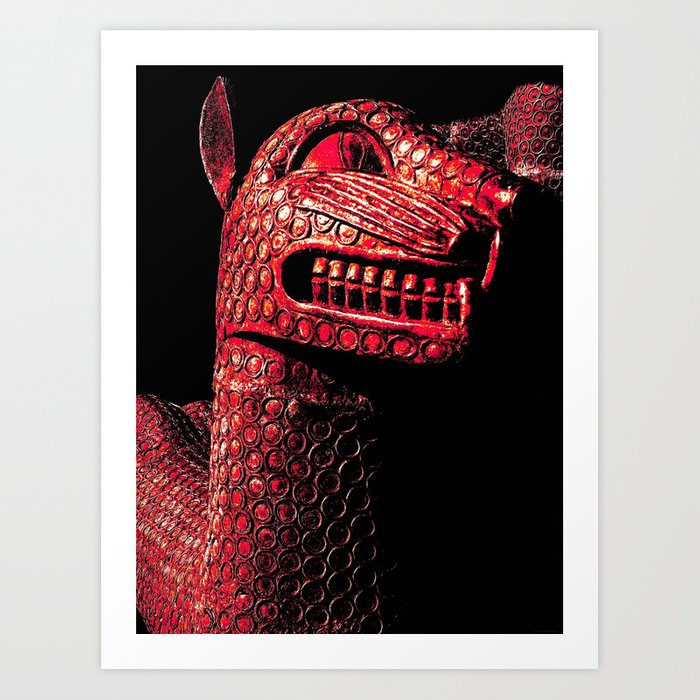 """South African Dragon"" Art Print"