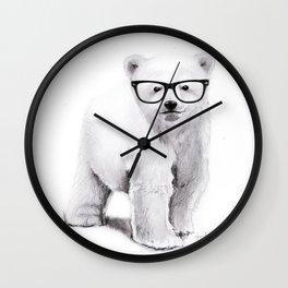 Polar Disorder Wall Clock