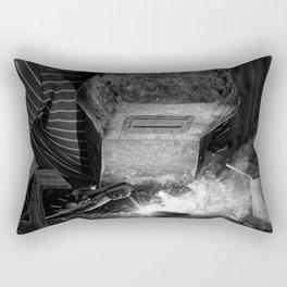 Welder works Rectangular Pillow