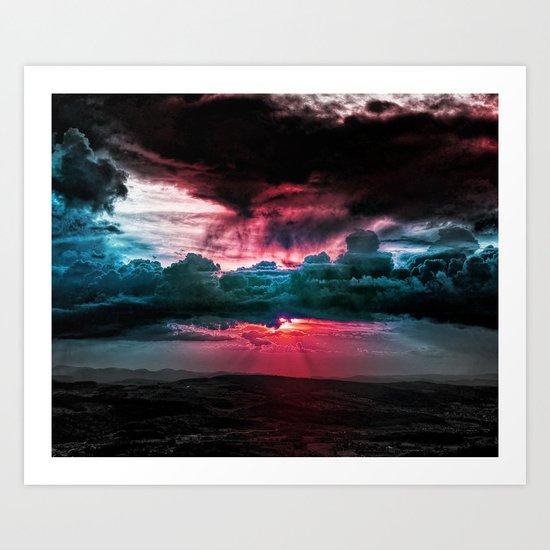 Marvelous earth Art Print
