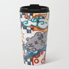 rainy day Metal Travel Mug
