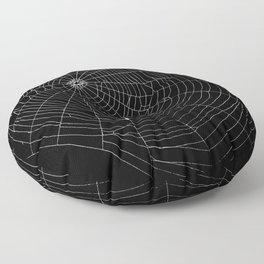 Spiders Web Floor Pillow