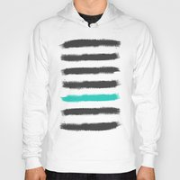 the strokes Hoodies featuring Paint Strokes  by Zeke Tucker
