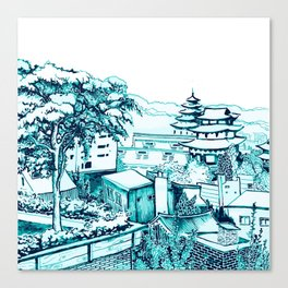 Samcheong dong  Canvas Print