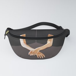 ABSTRACT ANATOMY - waiting the right time Fanny Pack