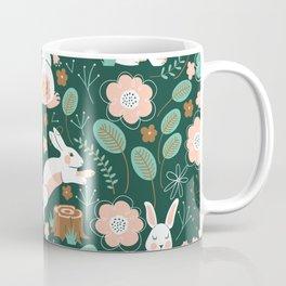 Woodland Bunnies Coffee Mug