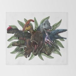 Jurassic World Throw Blanket