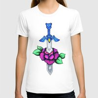 sword T-shirts featuring Master Sword by creativeesc