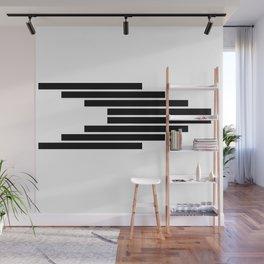 Side Ways | Black Wall Mural