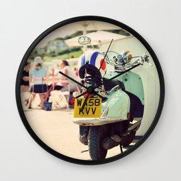 Vintage Vespa ♥ Wall Clock