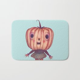 Pumpkin Witch Bath Mat