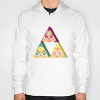triforce Hoodies featuring triforce! by Spencer Duffy
