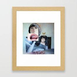 Affection Framed Art Print