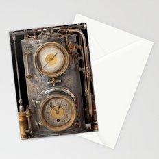 Vintage Clock Stationery Cards