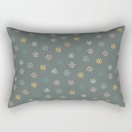 Winter Succulents Rectangular Pillow