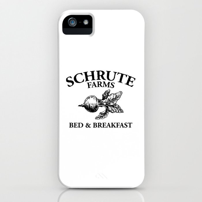 schrute farms iphone case