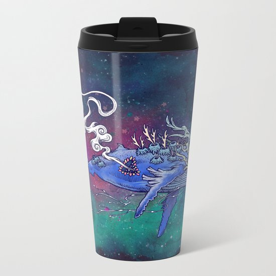 The Last Whale Metal Travel Mug