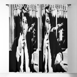 Tom Waits Amsterdam 1976 inches approx Vintage  Blackout Curtain