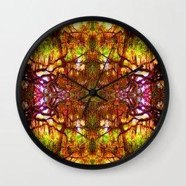 Tree of Life Abstract Wall Clock