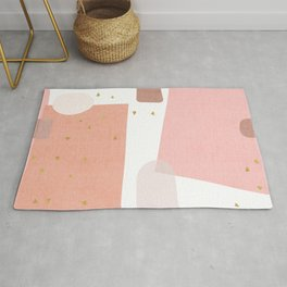 Confetti in Pink Rug