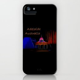 Electrified Adelaide iPhone Case
