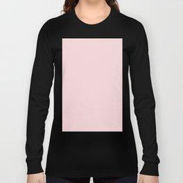 Pale Pink Long Sleeve T-shirt
