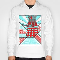 doctor who Hoodies featuring Doctor Who by Alli Vanes