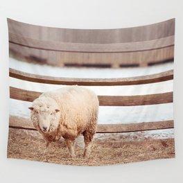 Barnyard Stance Wall Tapestry