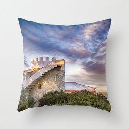 Mi casita favorita. Throw Pillow