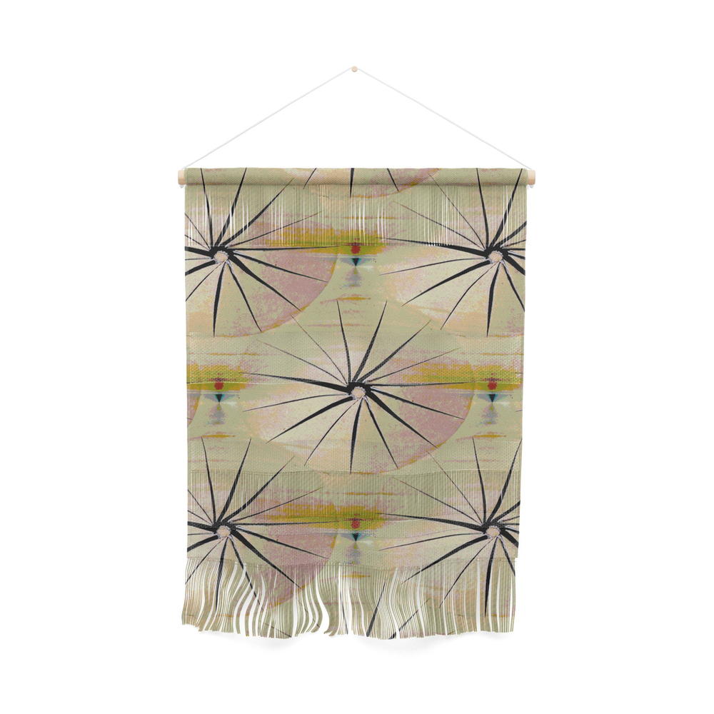 Paper Parasols (Pink Blush) Wall Hanging by artisimo (FWW7741493) photo