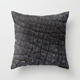 Hippo Skin Throw Pillow
