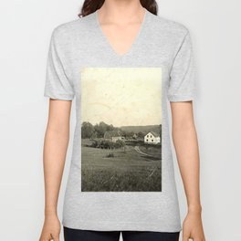 The Farmhouse Unisex V-Neck