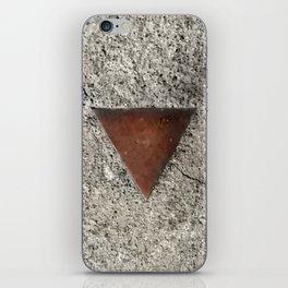 Granite Triangle iPhone Skin