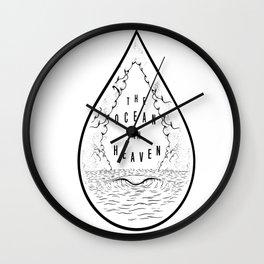 The Ocean in Heaven Wall Clock