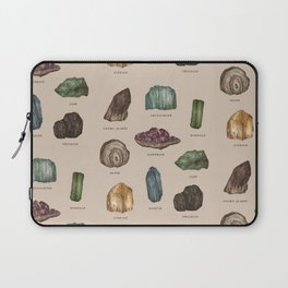 Gems and Minerals Laptop Sleeve