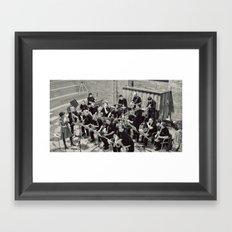 French Band Framed Art Print
