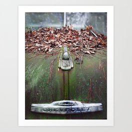 See The USA In Your Chevrolet Art Print