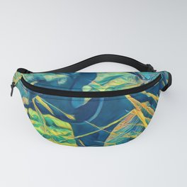Cute Forest Wild Animal Art Print Fanny Pack