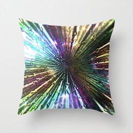 Radiation Throw Pillow