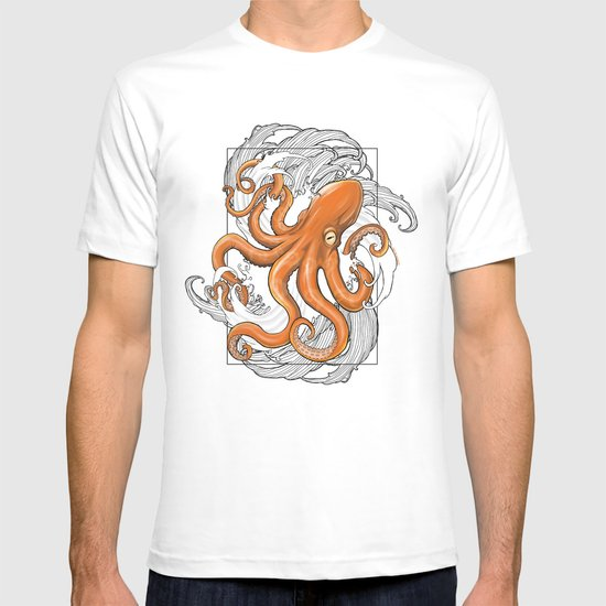 Hexapus Ink 3 T-shirt