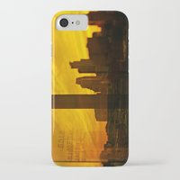 minneapolis iPhone & iPod Cases featuring golden minneapolis by sara montour