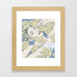 beauty in simple things Framed Art Print