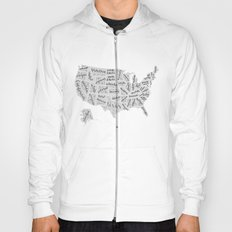 United States of Hand Lettering Hoody