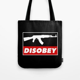 DISOBEY Tote Bag