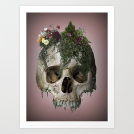 Death Garden Art Print