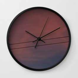 Universal connection II Wall Clock