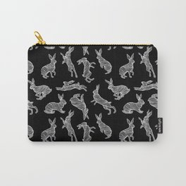 HARES (BLACK) Carry-All Pouch