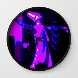 Midnight Dervish Wall Clock
