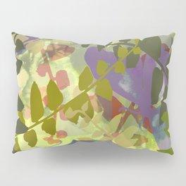 Green Butterfly Jungle Pillow Sham