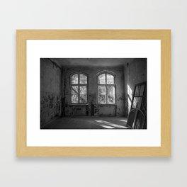 Lost Places - Beelitz Heilstätten Framed Art Print